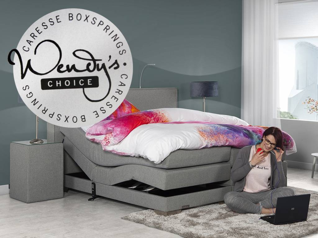 Caresse Boxspring - Silver 3800