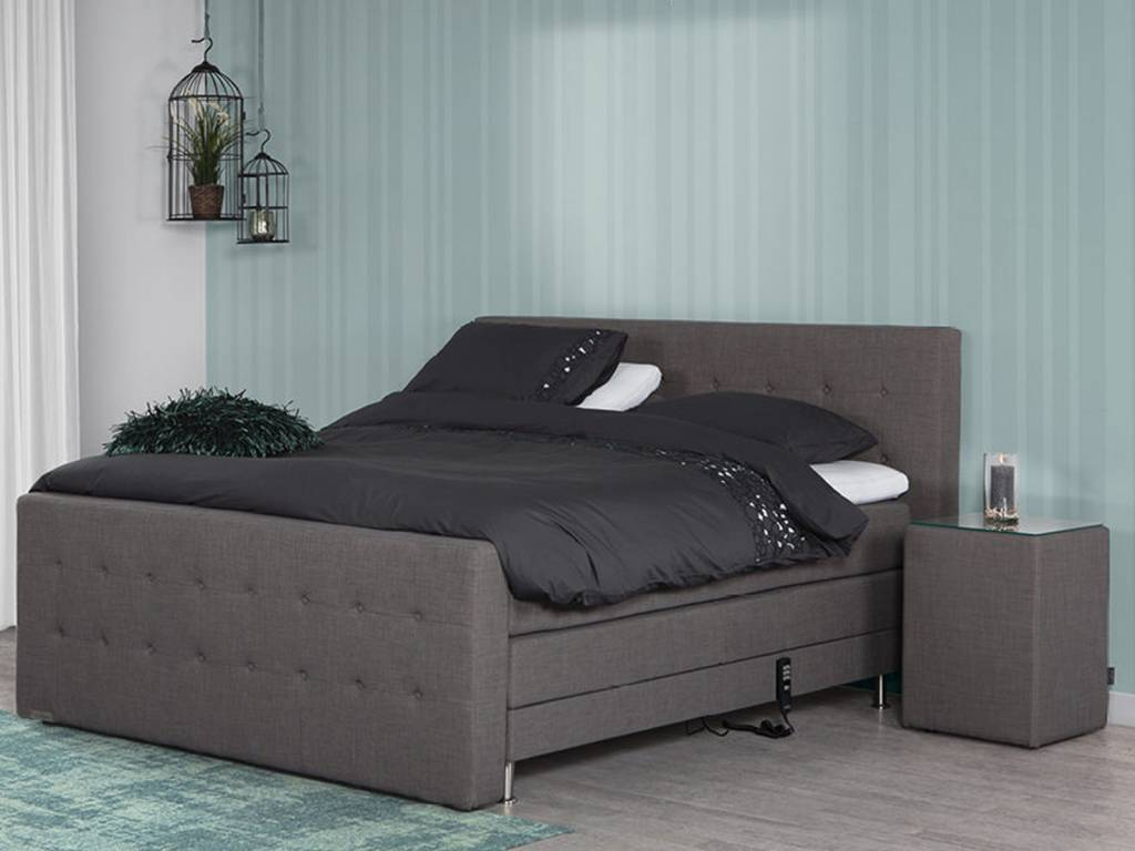 Caresse Boxspring - Silver 4810