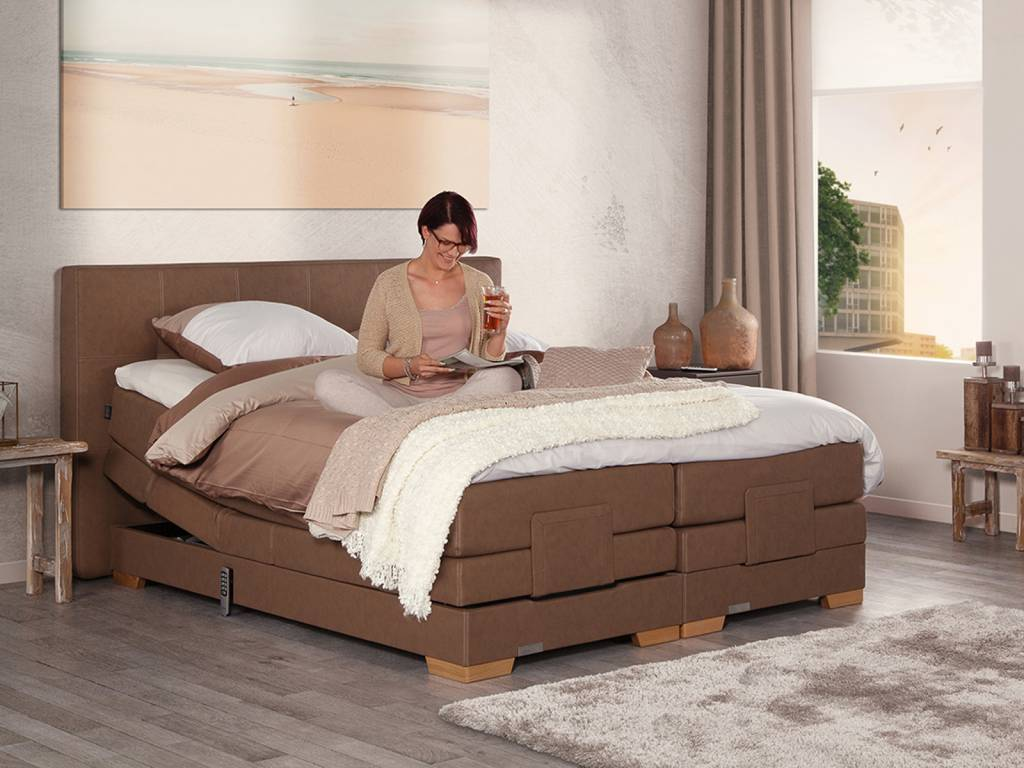 Caresse Boxspring - Platinum 9300