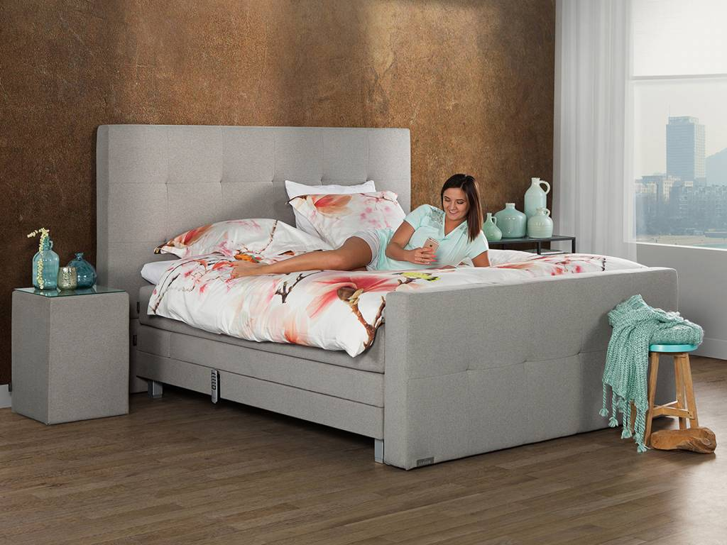 Caresse Boxspring - Platinum 9760