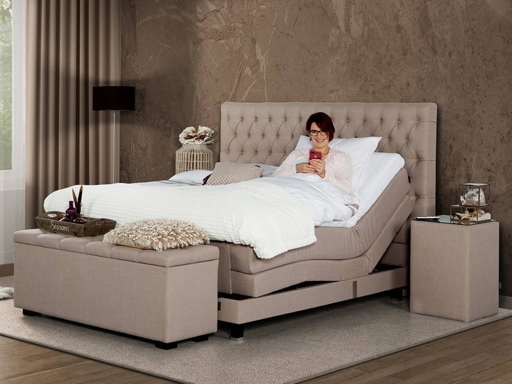 Caresse Boxspring - Platinum 9850