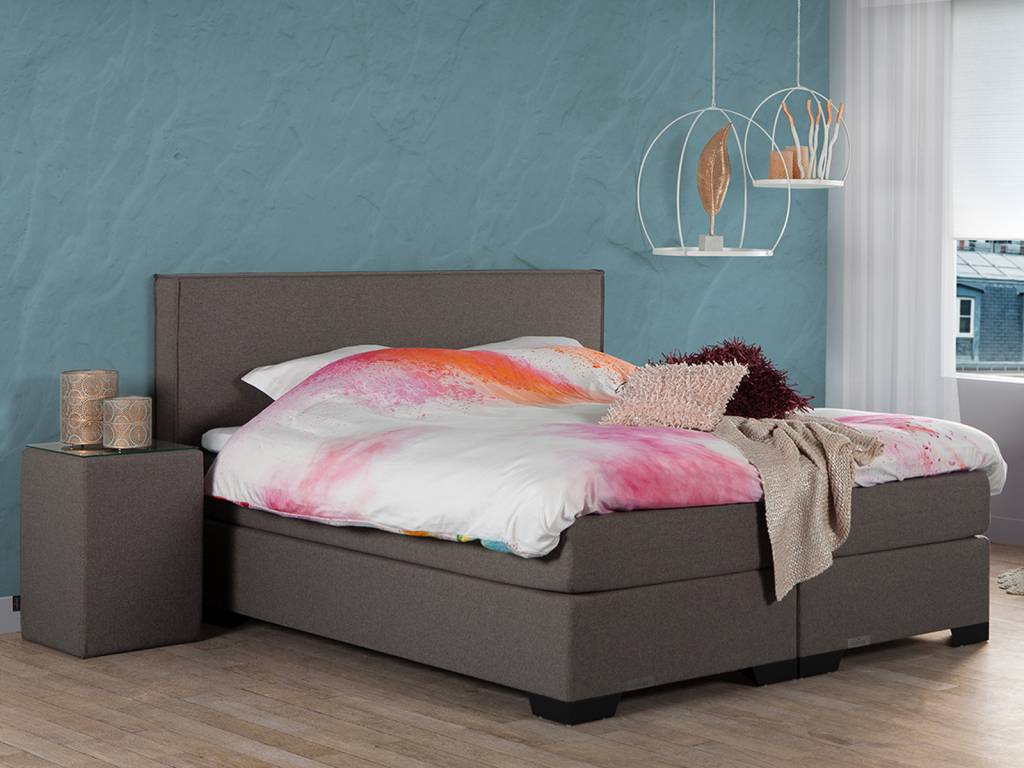 Caresse Boxspring - Silver 3850