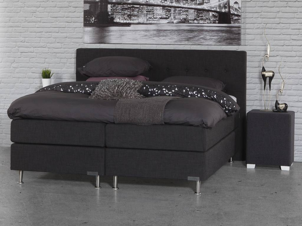Caresse Boxspring - Silver 4850