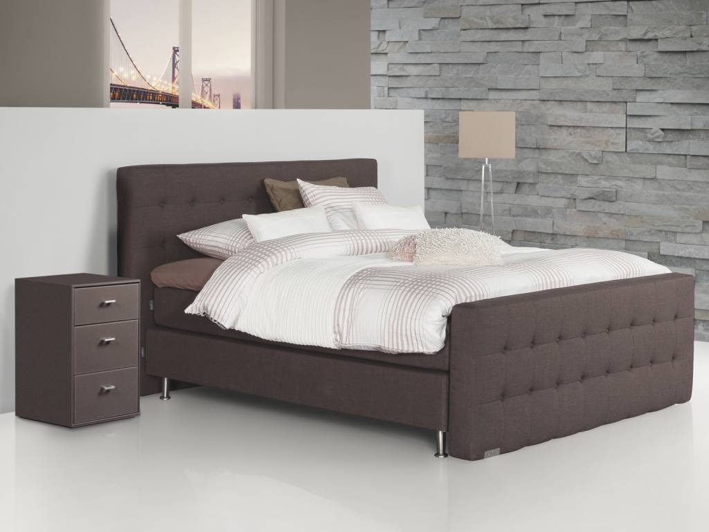 Caresse Boxspring - Silver 4860