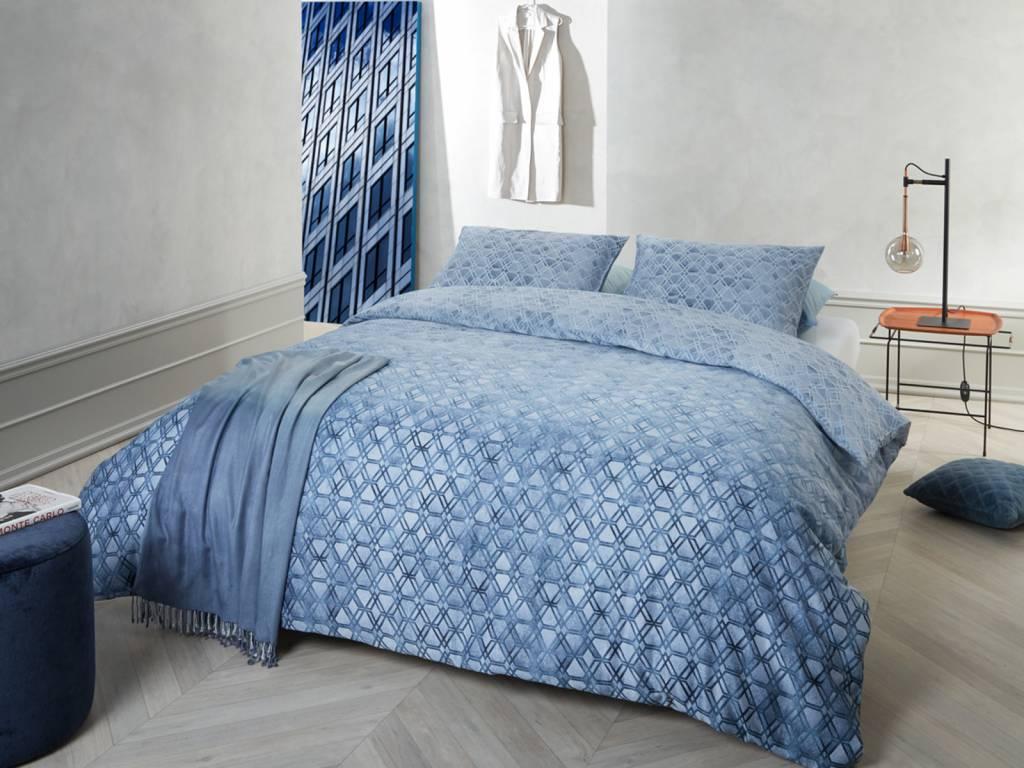 Kardol dekbedovertrek affection blue kardol satijn katoen