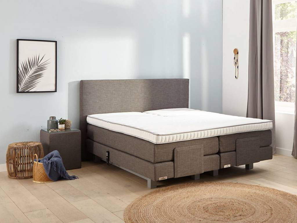 Caresse Boxspring - Silver 4650