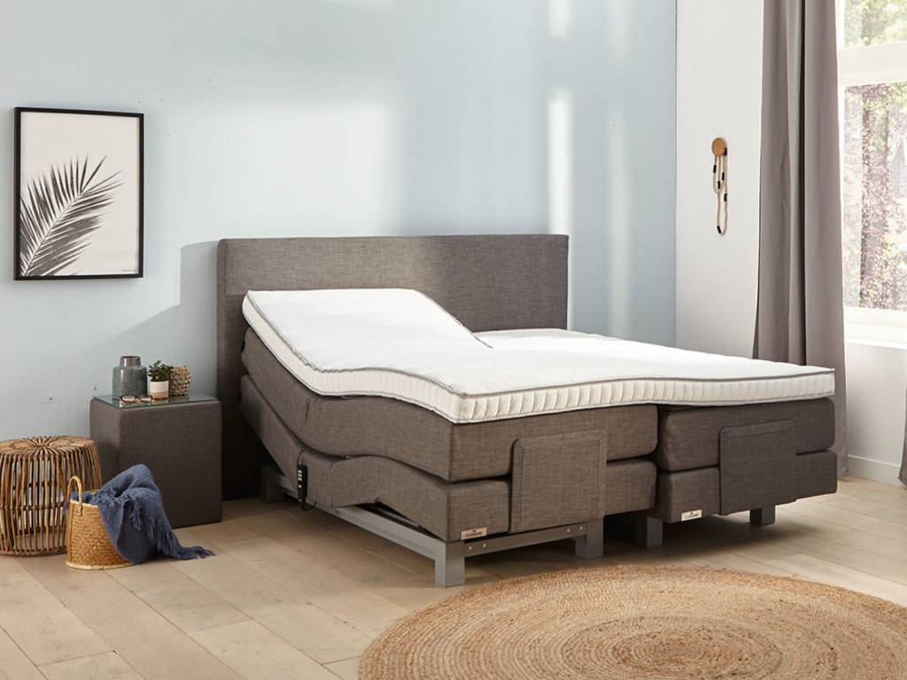 Caresse Boxspring - Silver 4600