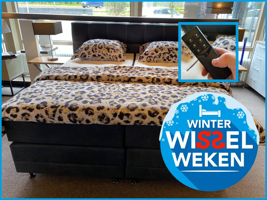 Winter Wissel Weken - Sleep Sense boxspring jasmijn